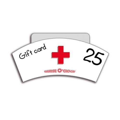 Geschenkgutschein 25€ Nurse O'Clock