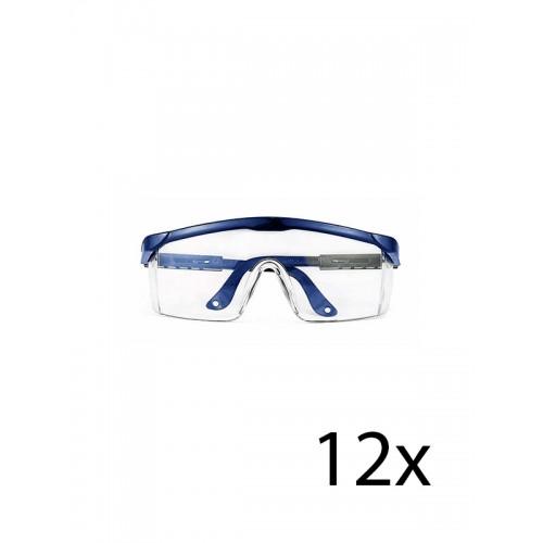 Hospitrix Schutzbrille Blau 12 Stk.