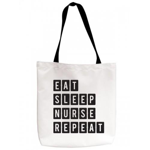 Einkaufstasche Eat Sleep Nurse Repeat
