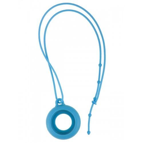 Silikon Schlüsselband Blau
