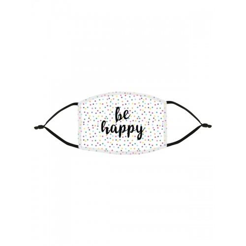 Alltagmaske Be Happy