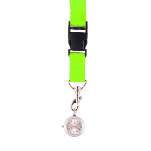 Schlüsselband Uhr Lime Grün