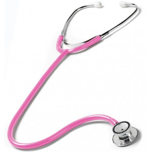 Doppelkopf Stethoskop Pädiatrie Hot Pink