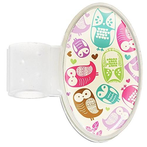 Stethoskop Namensschild Owl Cream